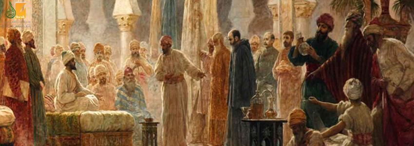 مراسم استقبال السفراء وتوديعهم في الأندلس